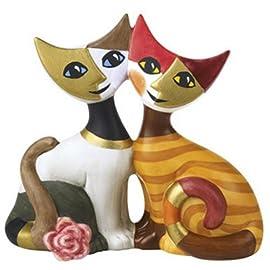 Rosina Wachtmeister Porcelain Miniature Cats Figurine - Gloria & Alberto