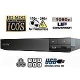 Sony Multi Zone Region Free Blu Ray Player - PAL/NTSC Playback - Zone A B C - Region 1 2 3 4 5 6 (Color: Black)