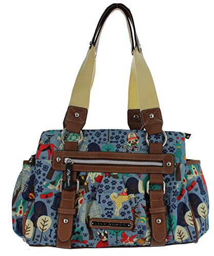 lily-bloom-triple-section-landon-multi-purpose-satchel-bag-who-lets-dogs-out