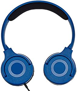AmazonBasics On-Ear Headphones - Blue