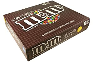 M&M's Milk Chocolate 48 Packs