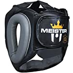 Meister Gel Full-Face Training Head Guard for MMA, Boxing & Muay Thai by Meister MMA