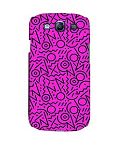 PickPattern Back Cover for Samsung I9300 Galaxy S III