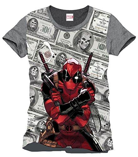 Deadpool Dollars T-Shirt multicolore L