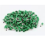 Wire Crimp Insulated Ferrule Cord End Terminal AWG 8 250pcs Green