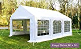 Primrose Marquees - Luxury Marquee 3m x 6m - Heavy Duty Party Wedding Tent Canopy - PVC Rip-stop Fabric (More Sizes Available)