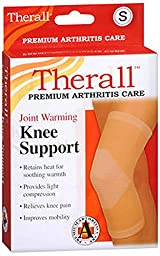 Therall Joint Warming Knee Support, Beige, Small
