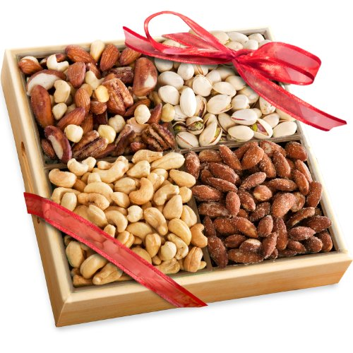 Golden State Fruit Savory Favorites Assorted Nuts Gift Tray image
