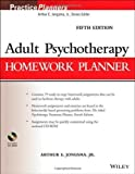 img - for Adult Psychotherapy Homework Planner 5th (fifth) by Jongsma Jr., Arthur E. (2014) Paperback book / textbook / text book