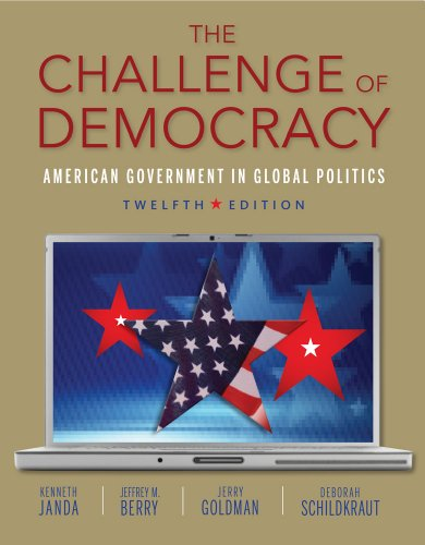 Read Online The Challenge Of Democracy Book Only By
