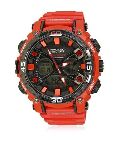 Nautec No Limit Reloj AK QZ-AD/PCRDPCBKBK-RD Rojo