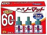 アースノーマット 60日用 取替えボトル 無香料 3本入