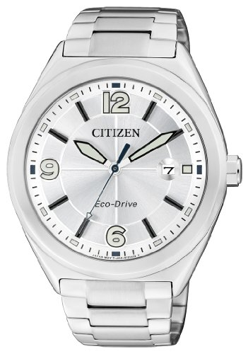 Citizen Women's Quartz Watch AW1170-51A with Metal Strap, Solar Powered