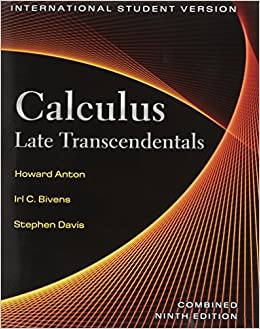 calculus early transcendentals 10th edition pdf