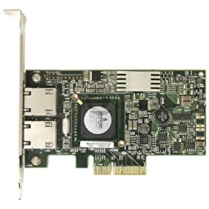Dell Dual Port 5709 Gigabit Ethernet PCIe Network Interface Card for Select Dell PowerEdge Server MPN G218C