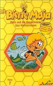 Die Biene Maja - Folge 07: Maja und die Heuschrecke / Das Wettspringen [VHS]
