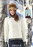 Sweater and Cardigan in Sirdar Wash n Wear Double Crepe DK - 9626