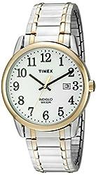 Timex Men's 'Easy Reader' Quartz Stainless Steel Casual Watch (Model: TW2P814009J)