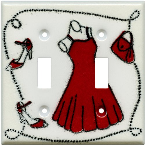 DRESS AND SHOES Switchplates 2 Toggle