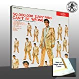 51YZe19EDmL. SL160  Elvis Presley 50 Million Elvis Fans Mega Album Cover