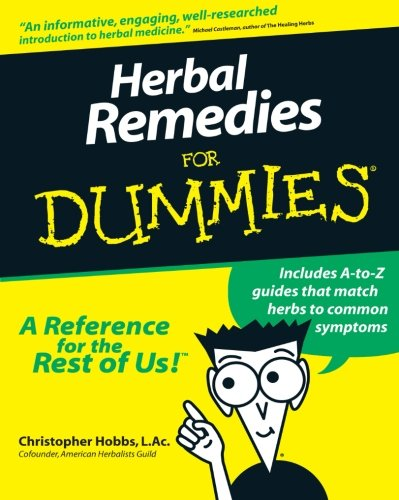 Herbal Remedies For Dummies front-861304
