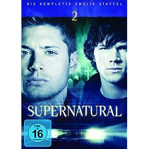 51YZeVQpblL. SL500 AA300  [Amazon] Supernatural   Staffeln 1 4 auf DVD je nur 9,99€