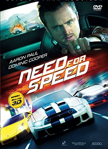 Need For Speed (Dvd Import) (European Format - Region 2) (2014) Aaron Paul; Imogen Poots; Michael Keaton; D