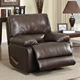 Coaster Geri Motion Rocker Recliner-Cognac