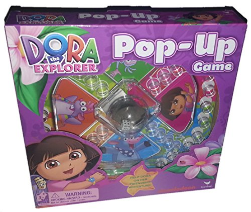 Dora The Explorer Pop-Up Game by Cardinal