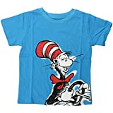 Bumkins Dr. Seuss Short Sleeve Toddler Tee, 4T, Cat in Hat