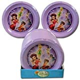 Disney Fairies Tinkerbell Purple 8.5D Plate
