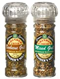 Dean Jacobs BBQ Lovers Duo, Barbecue Seasonings, 2-Count Grinder Gift Sets (Pack of 3)