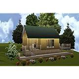 16x24 Cabin W/loft Plans Package, Blueprints, Material List