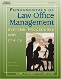 Fundamentals of Law Office Management (West Legal Studies)