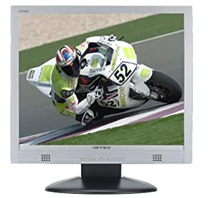 """HannsG 19"""" LCD HC194D 1280x1024 resolution 8MS response time 500:1 ratio DVI & VGA connection VESA compatable with speakers Silver & Black in colour"""
