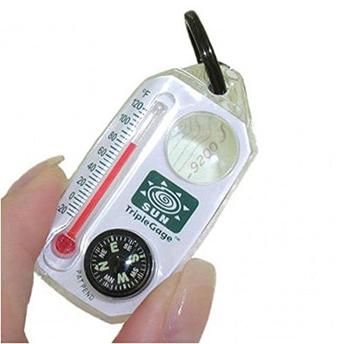 SUN COMPANY Triple Gage Compass Assorted Colors One Size (Sun Company Compass compare prices)