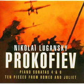 Prokofiev : 10 Pieces from Romeo and Juliet Op.75 : II Scene