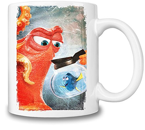 Finding Dory Octopus Tazza Coffee Mug Ceramic Coffee Tea Beverage Kitchen Mugs By Slick Stuff
