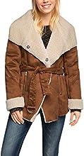 ESPRIT Damen Jacke tailliert, Gr. 38 (Herstellergröße: M), Braun (CAMEL 230)