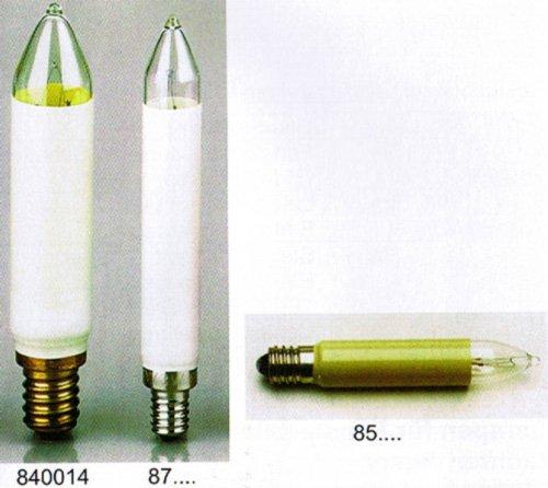 Kleinschaftkerze Ersatzlampe für Schwibbogen und Lichterketten 14V 3W für innen