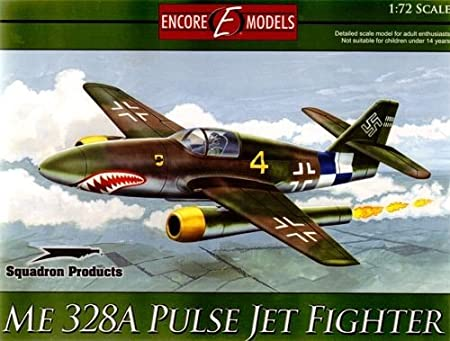 Encore Models 72101 Me 328A Pulse Jet Fighter 1:72 Plastic Kit Maquette