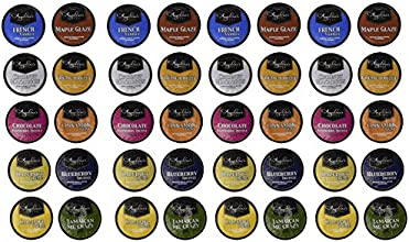 40ct Flavored Only Variety Pack by Angelino39s for Keurig K-cup Coffee Brewers 10 Assorted Single Cu