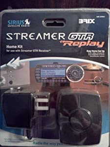 Sirius Satellite Radio Home Kit Streamer GTR replay