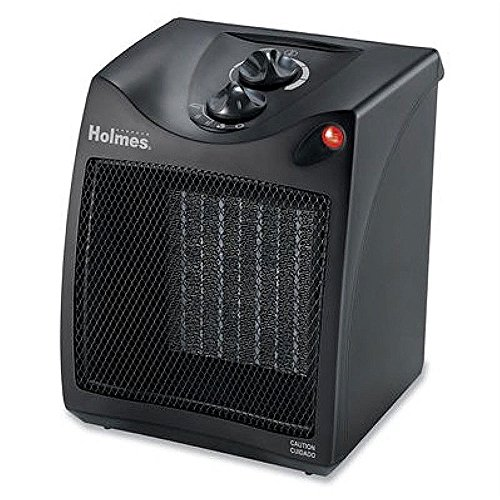 Holmes Compact Ceramic Heater with Thermostat (Holmes Electric Space Heaters compare prices)