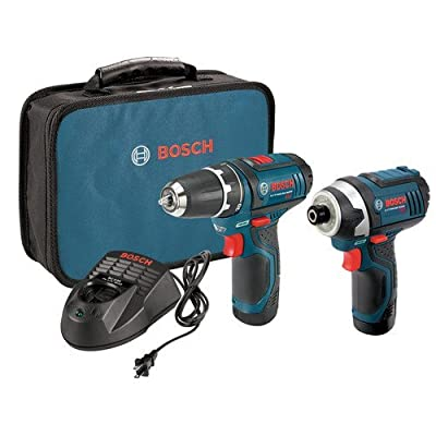 Bosch CLPK22-120 12-Volt Li-Ion 2-Tool Combo Kit Drill/Driver & Impact Driver