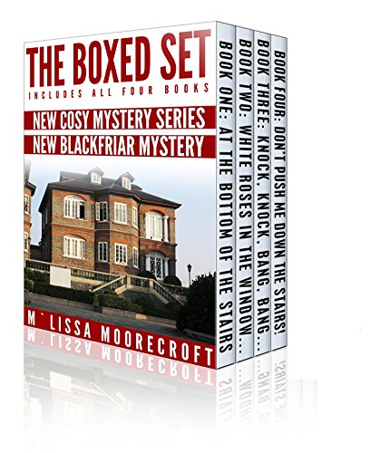 If you like Cozy Mysteries with great characters and fast-paced action, this 4-in-1 BOXED SET ALERT is a must read!  The Blackfriar Mysteries by M'lissa Moorecroft
