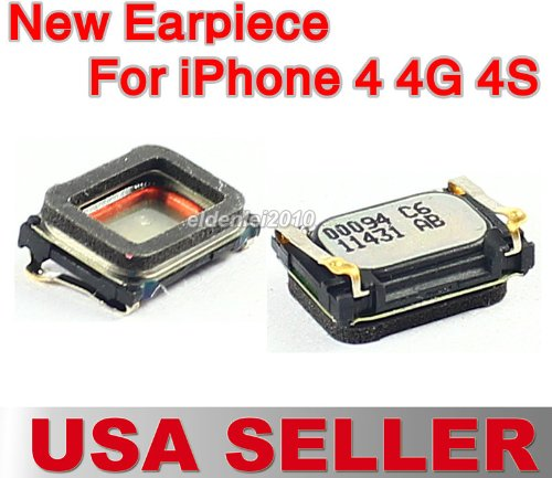 Oem 2 Pcs New Earpiece Ear Piece Speaker Replacement Part For Apple Iphone 4 4G 4S