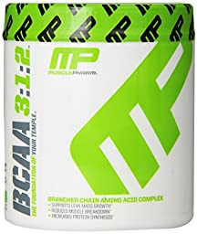 Muscle Pharm BCAA 3:1:2 Powder, Unflavored, 0.39 Pound