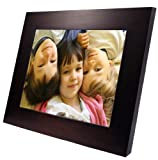 Digital Spectrum U-40122 15-Inch Digital Picture Frame - Dark Wood Frame