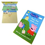 Peppa Pig's Sticker Pad - Fun Scenes with Reusable Stickers (Pack of 1)
